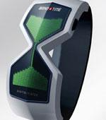デジタル砂時計な腕時計