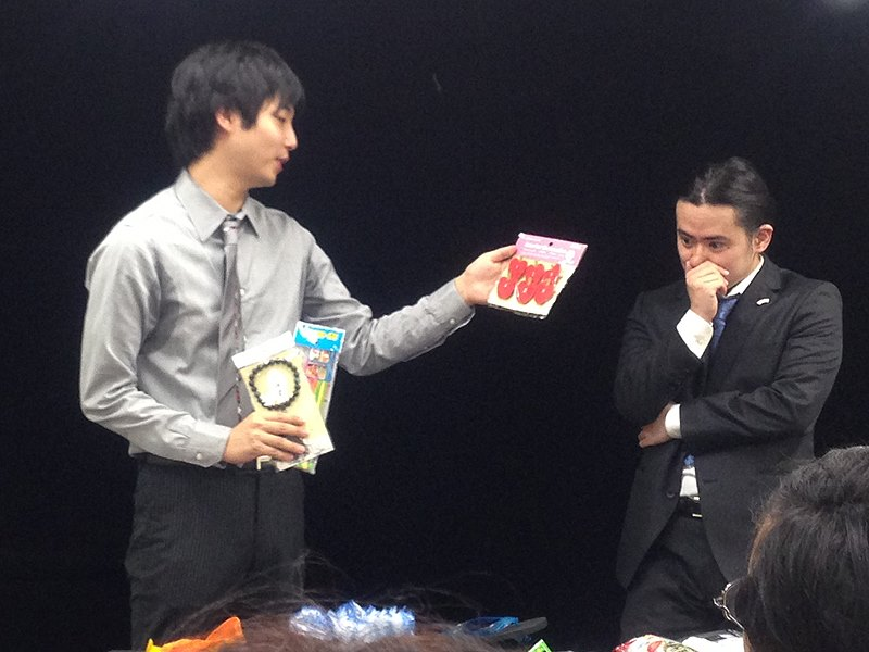 野島伸幸バラエティーマジックショー珍味