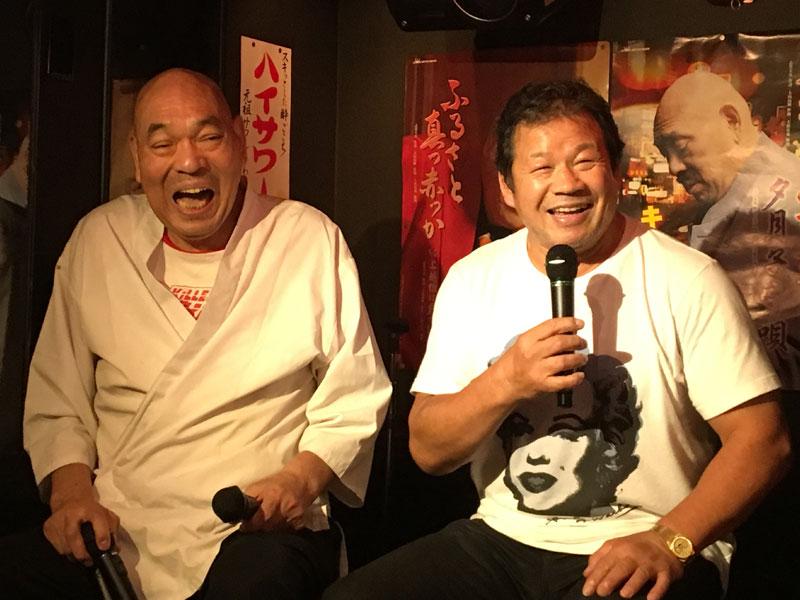 藤波辰爾選手トークイベント with キラー・カーン@歌謡居酒屋カンちゃん