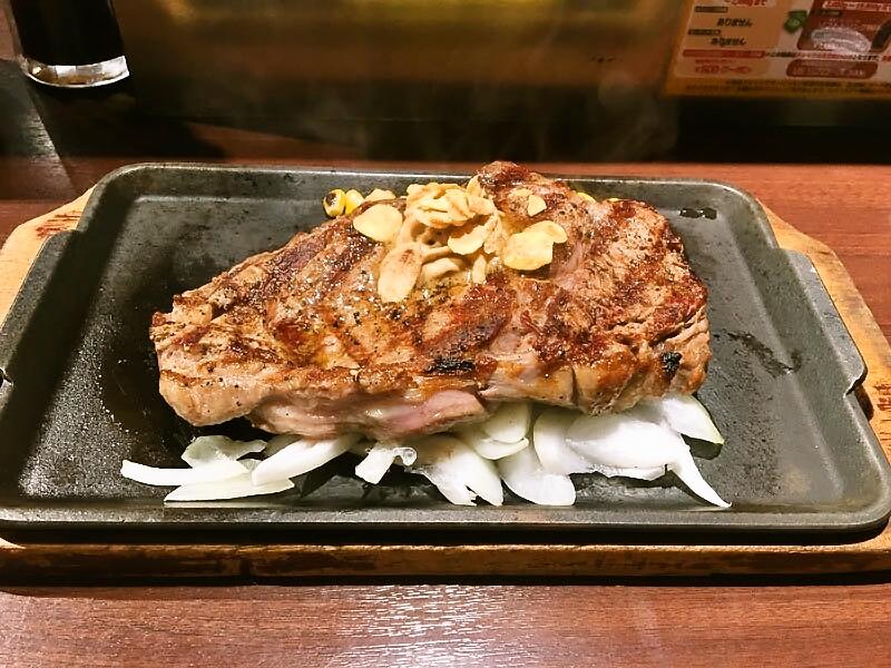 プラチナカード@いきなりステーキ