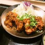 唐揚げ油淋鶏定食@松乃家 北小金店